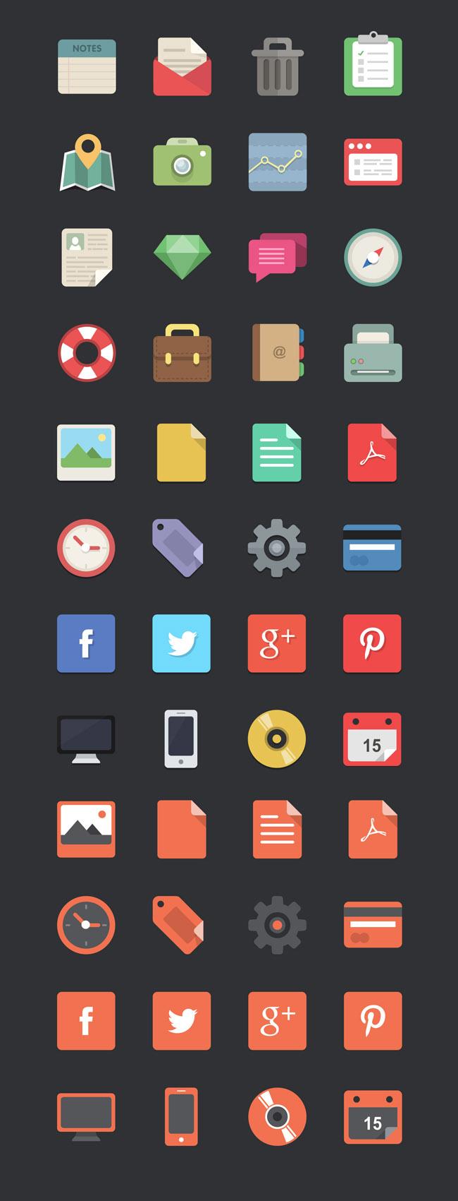 48-flat-designer-icons