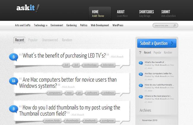 AskIt-WordPress-Theme