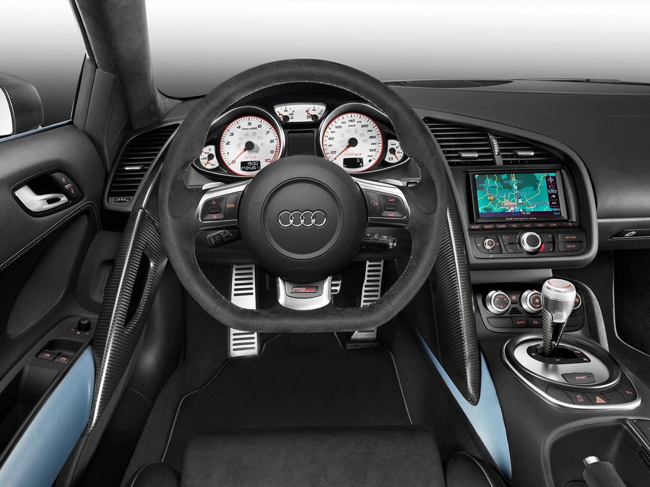 Audi-R8-GT-Spyder-Dashboard