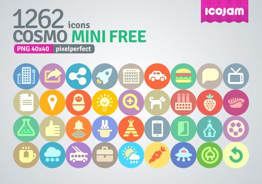 Cosmo 1262 icons mini