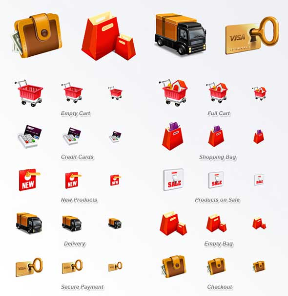 E-Commerce-Icon-Set