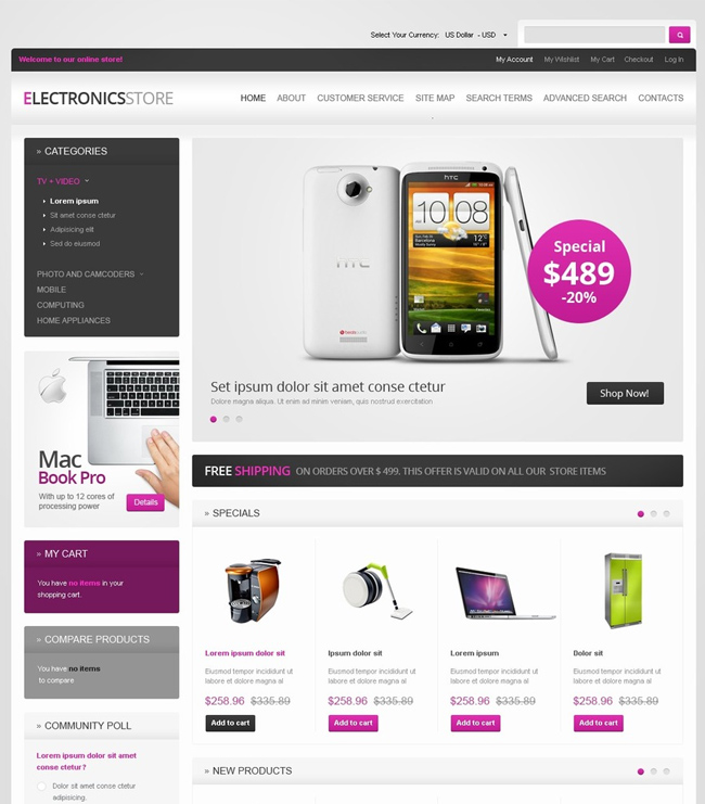 Electronics-for-Life-Magento-Theme