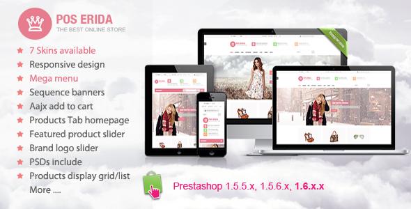 Erida - Responsive Prestashop Theme