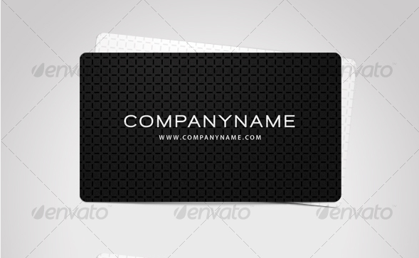 Exclusive Business Card - Black and White
