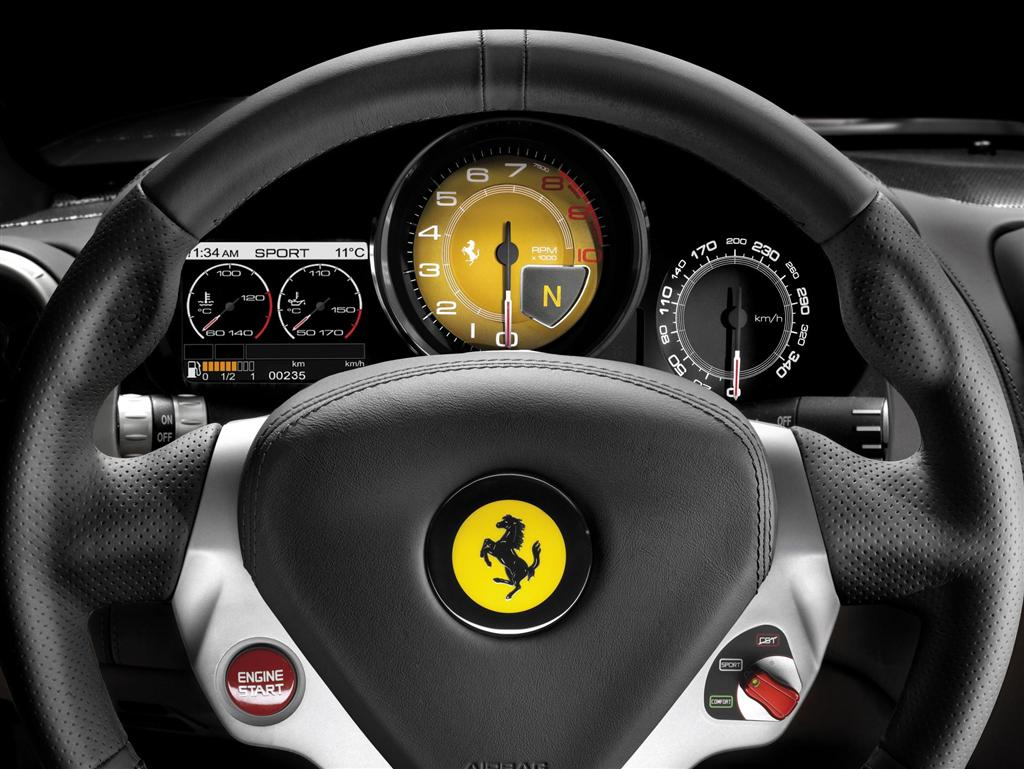 Ferrari-California-Dashboard