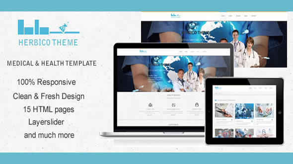 Herbico – Doctor, Medical & Health Template