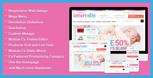 Kids Store Responsive Prestashop - CentriKids
