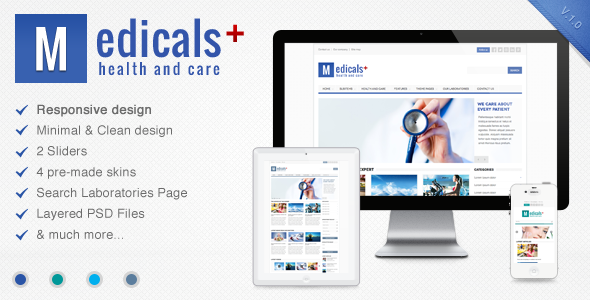Medicals - Premium Responsive Medical Template