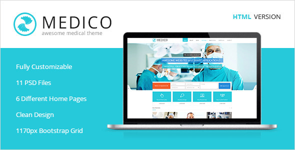 Medico -Medical & Health HTML5 Template
