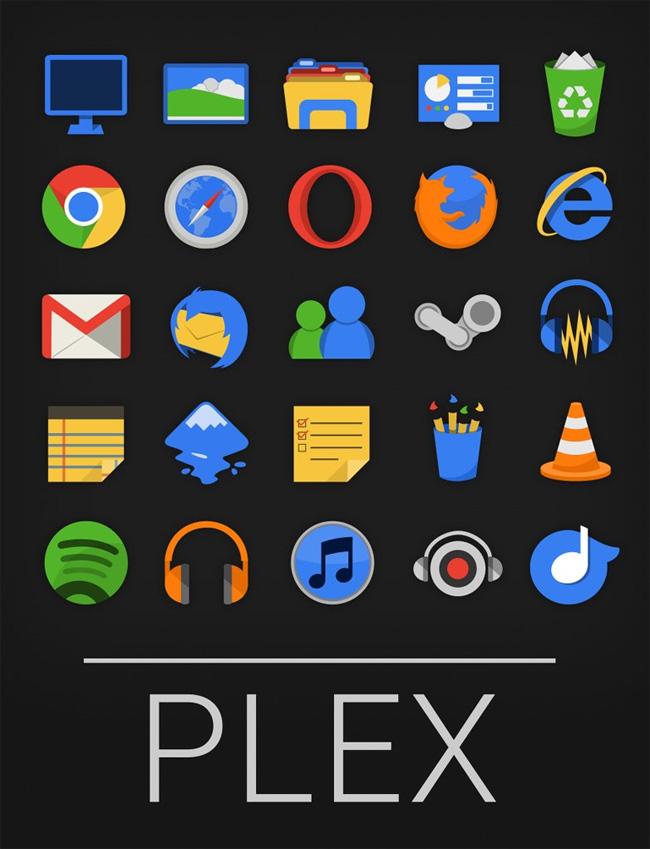 Plex-Icon-Set
