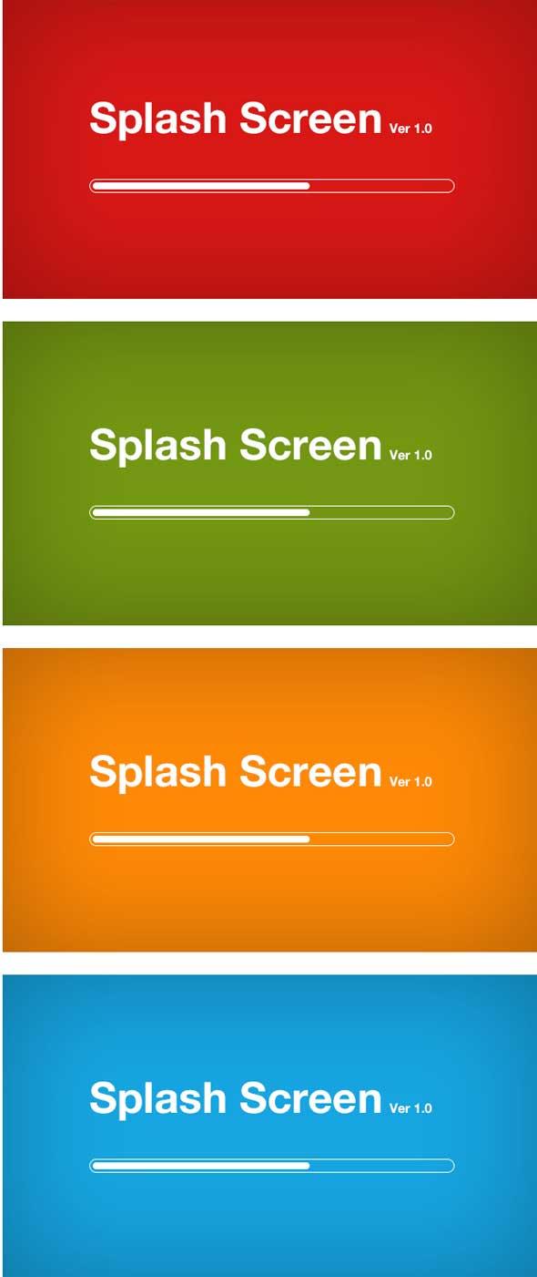 Splash-Screen-Design-Pack