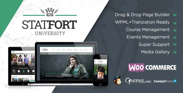 Statfort - Educational WordPress Theme