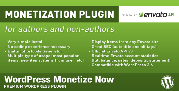 WordPress Monetize Now