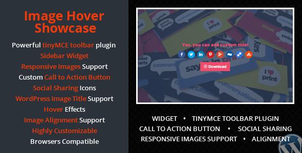 Wordpress Image Hover Showcase