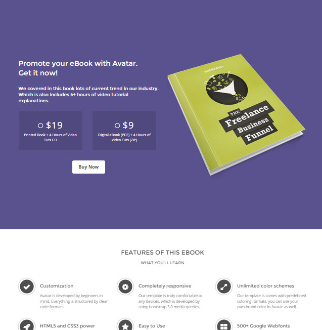 avatar-one-multi-page-parallax-wordpress-theme