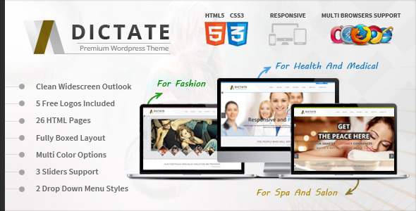 dictate-medical-salon-and-fashion-html5-template