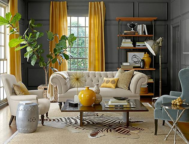 Living room 1. 10 Unique Styles For Decorating The Living Room 2016   DesignMaz