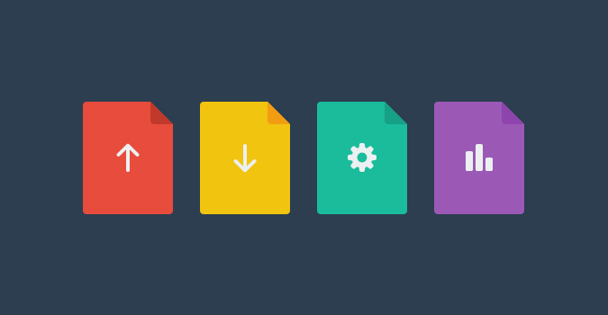 flat-file-icons-psd