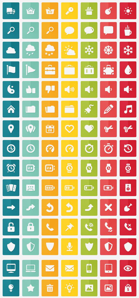 free-flat-icons-Gmarellile