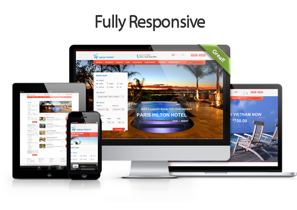 15 best html responsive booking templates designmaz for Ideal hotel design booking