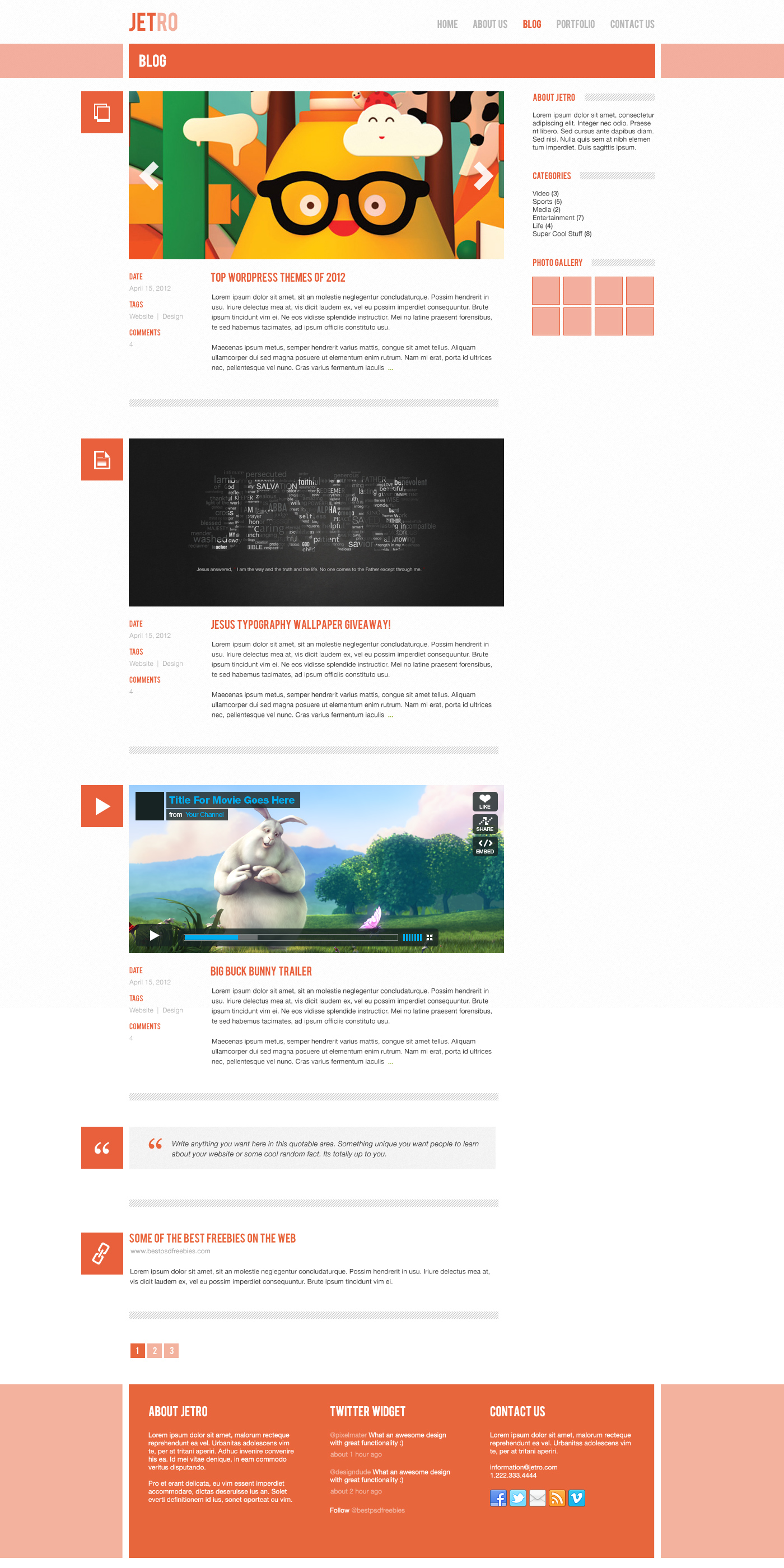 30 Fresh HTML jQuery Image Sliders and Carousels of