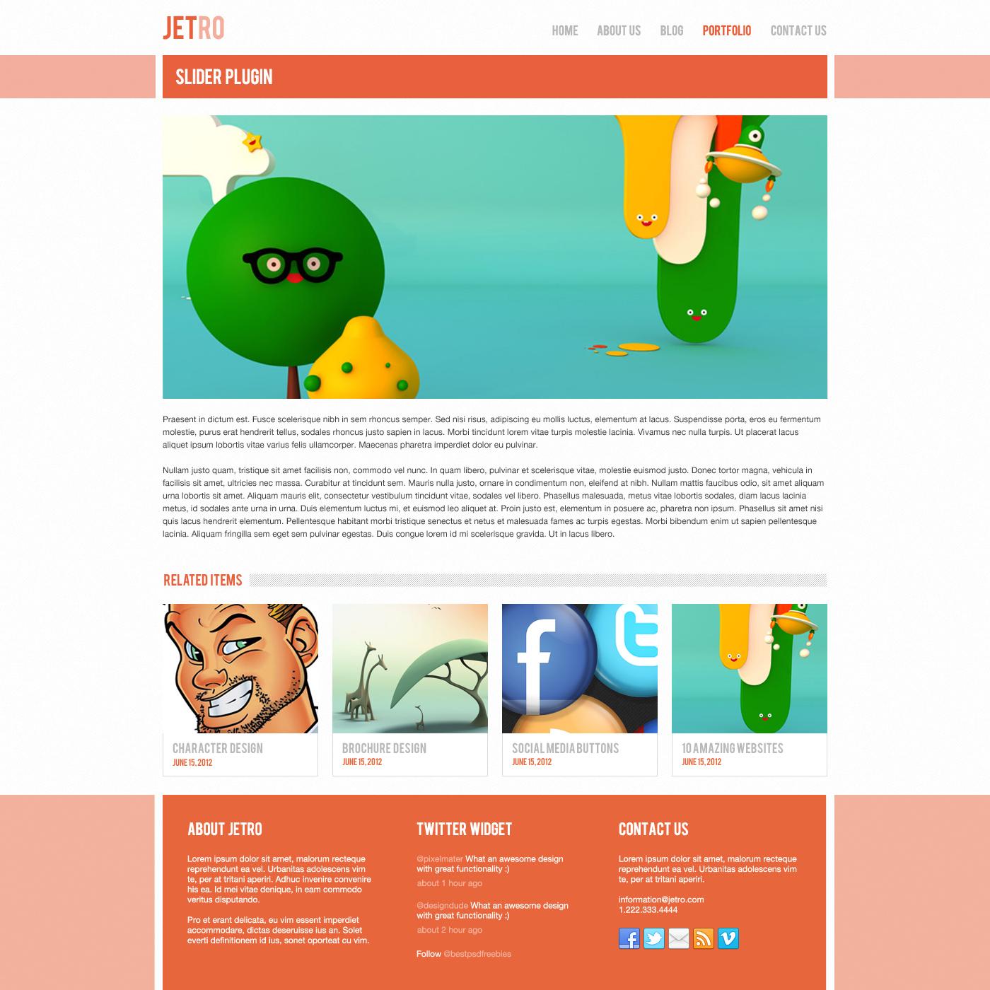 jetro-psd-responsive-html-template-item