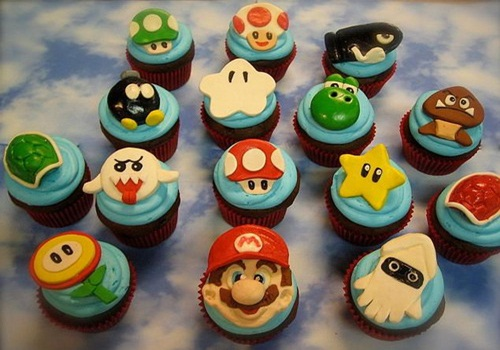 Super Mario Cake Nerdy Nummies