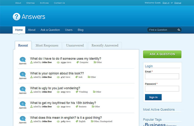 10 best question and answer wordpress themes plugins designmaz