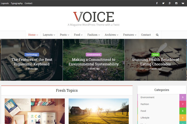 voice-flat-clean-newsmagazine-wordpress-theme