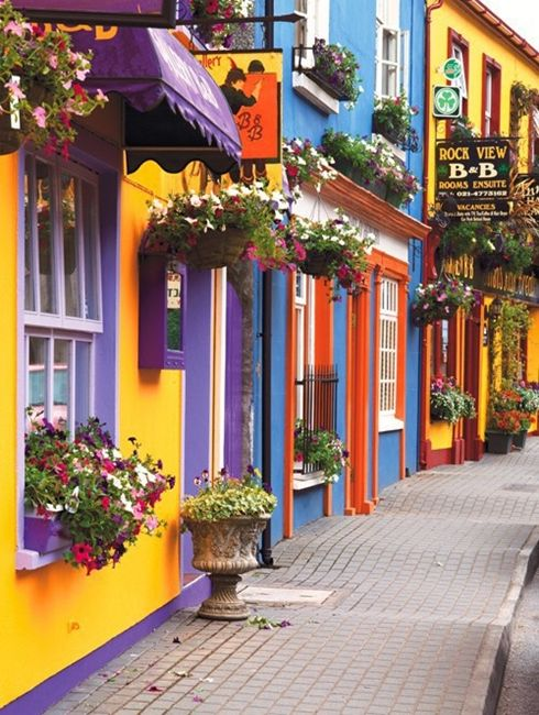 Ireland- i think i just love colorful streets
