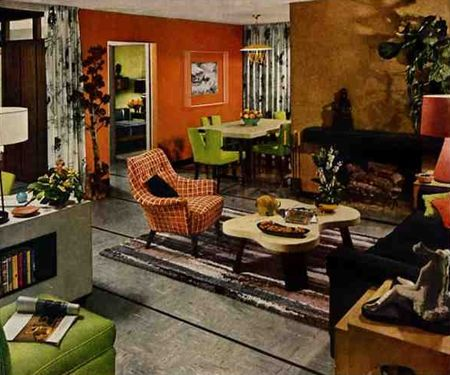 British Trends In Interior Design From 48s To 48 DesignMaz Gorgeous 1950S Interior Design