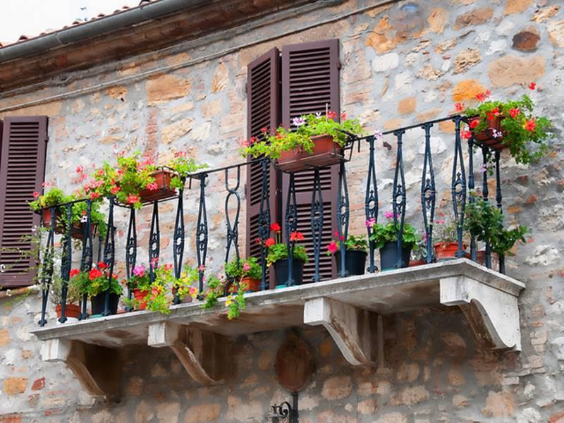 20 Inspiring Designs For Decorating Small Balcony DesignMaz