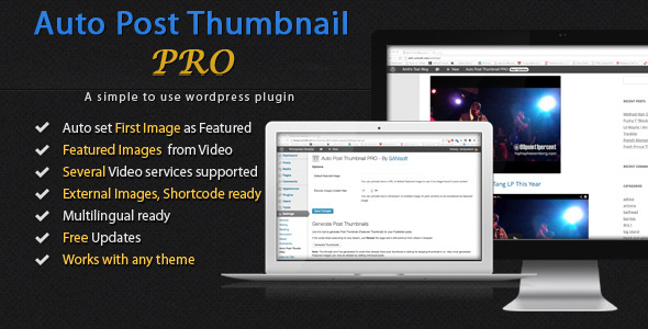 Auto Post Thumbnail PRO