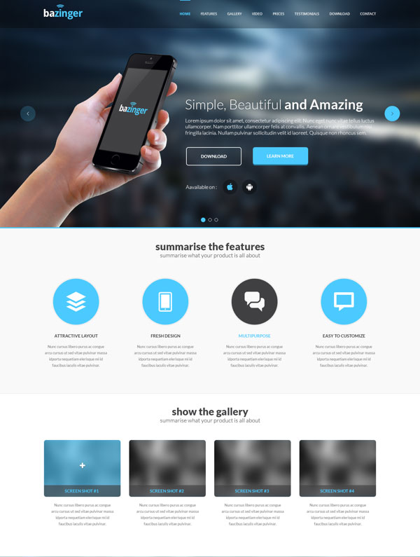 Bazinger-Landing-Page-Free-PSD