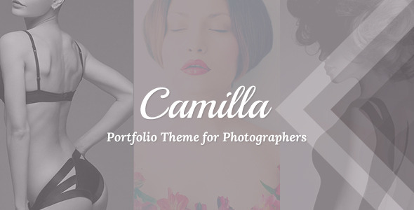 Camilla - Horizontal Fullscreen Photography Theme