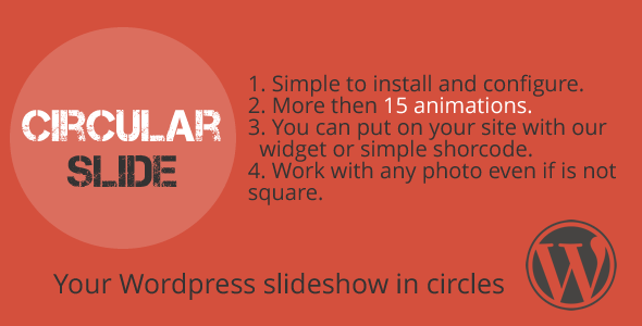 Circular Slide - WordPress plugin