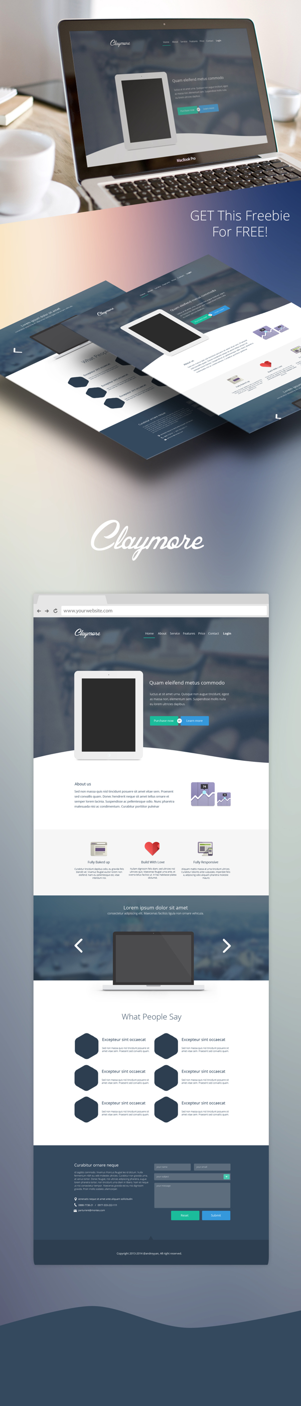 Claymore-App-Landing-Page