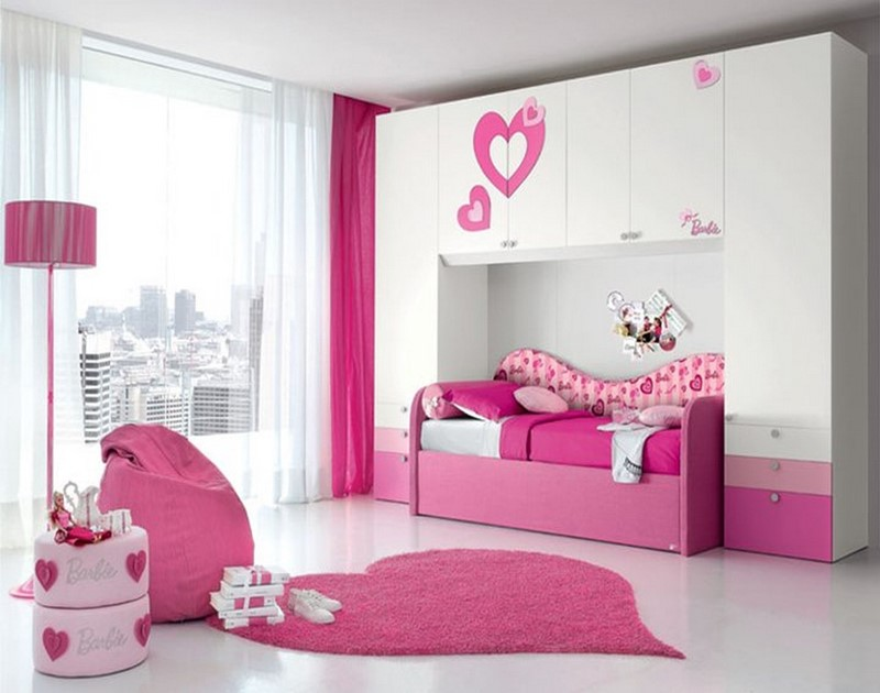 Ideal Bedroom Designs For Teenager Girls