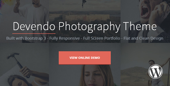 Devendo Photography WordPress Theme