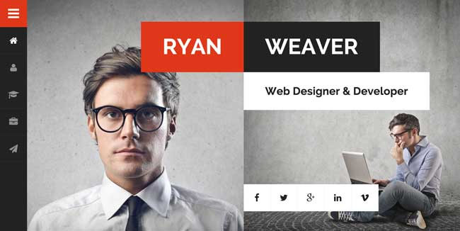 Divergent-Personal-Vcard-Resume-HTML-Template