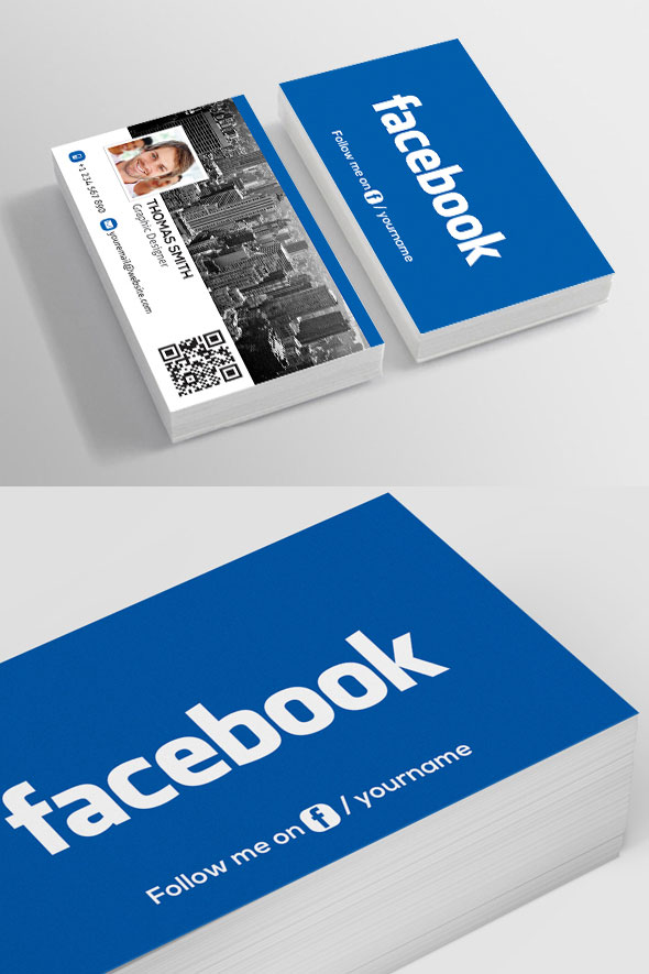 Facebook-Business-Card