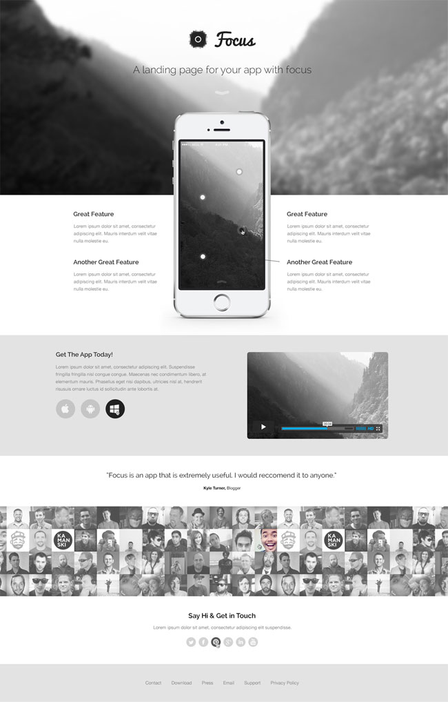 Focus-Landing-Page-PSD