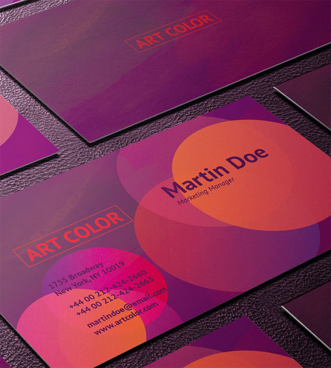 Free-Colorful-Business-Card-Template