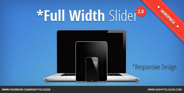 Full Width Slider 2 for WordPress