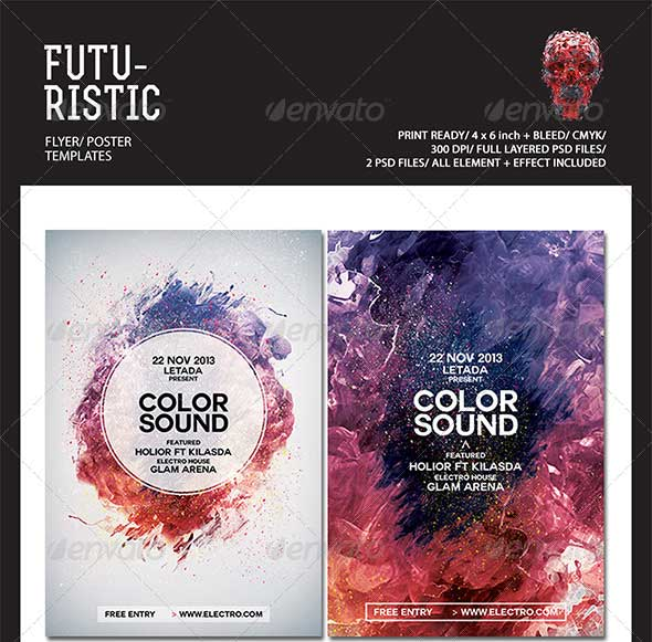 Futuristic-Flyer-Templates