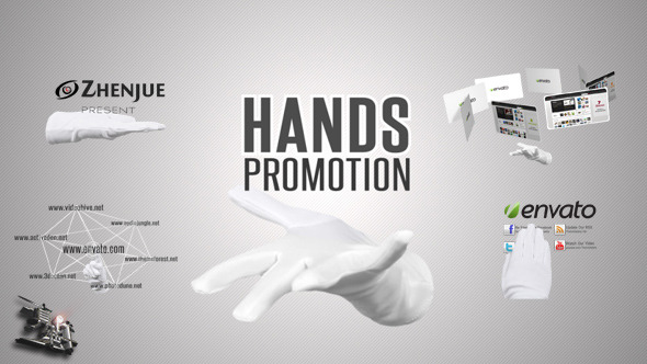 Hands Promotion Pack