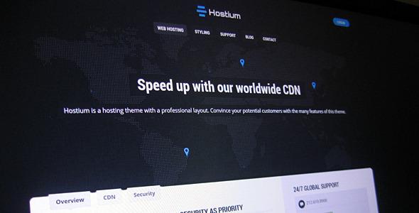 Hostium - Responsive Hosting Theme