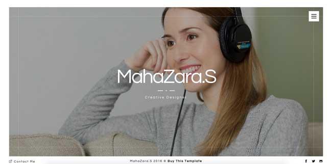 MahaZara.S-HTML-Personal-Resume-and-Portfolio