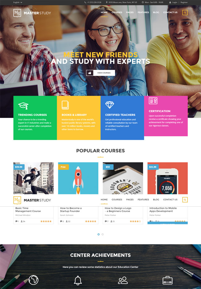 Masterstudy-Education-Center-WordPress-Theme