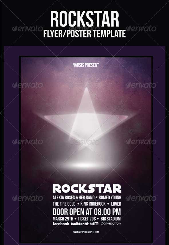 Rock-Star-Flyer-Template